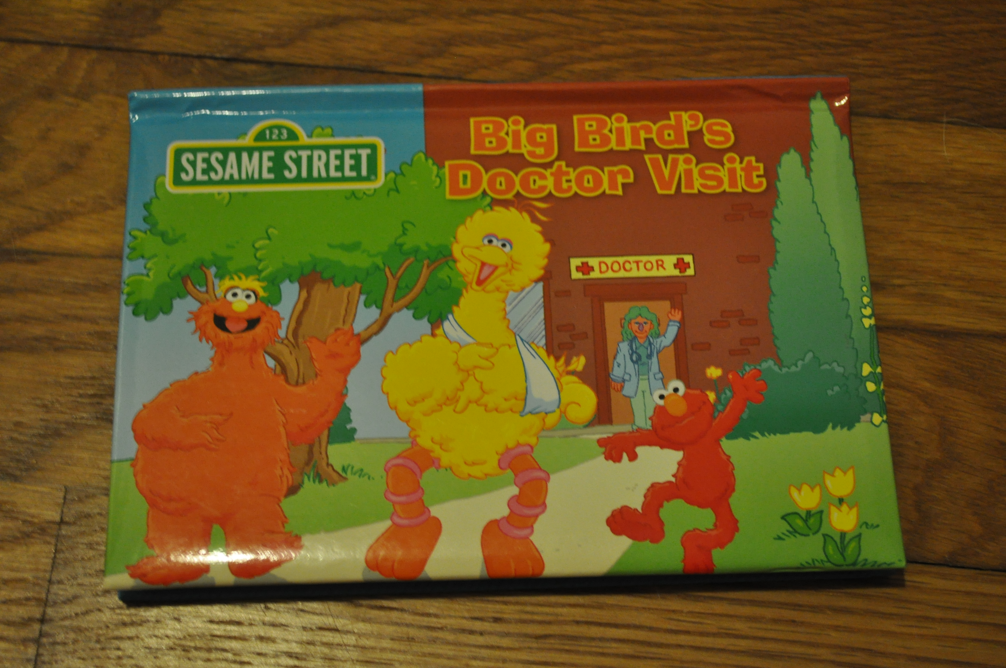 Ripping Off Big Bird's Head  |