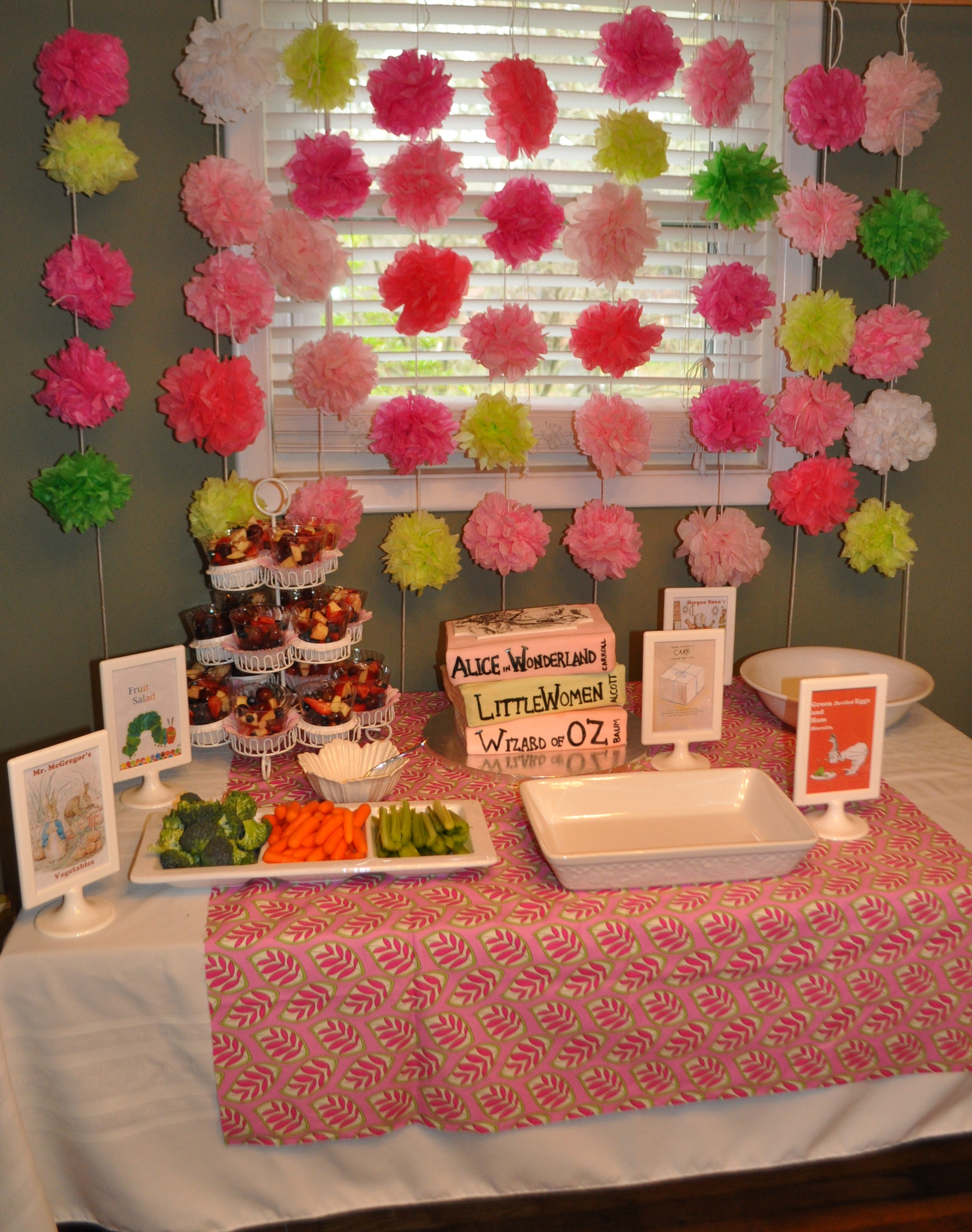 the food table