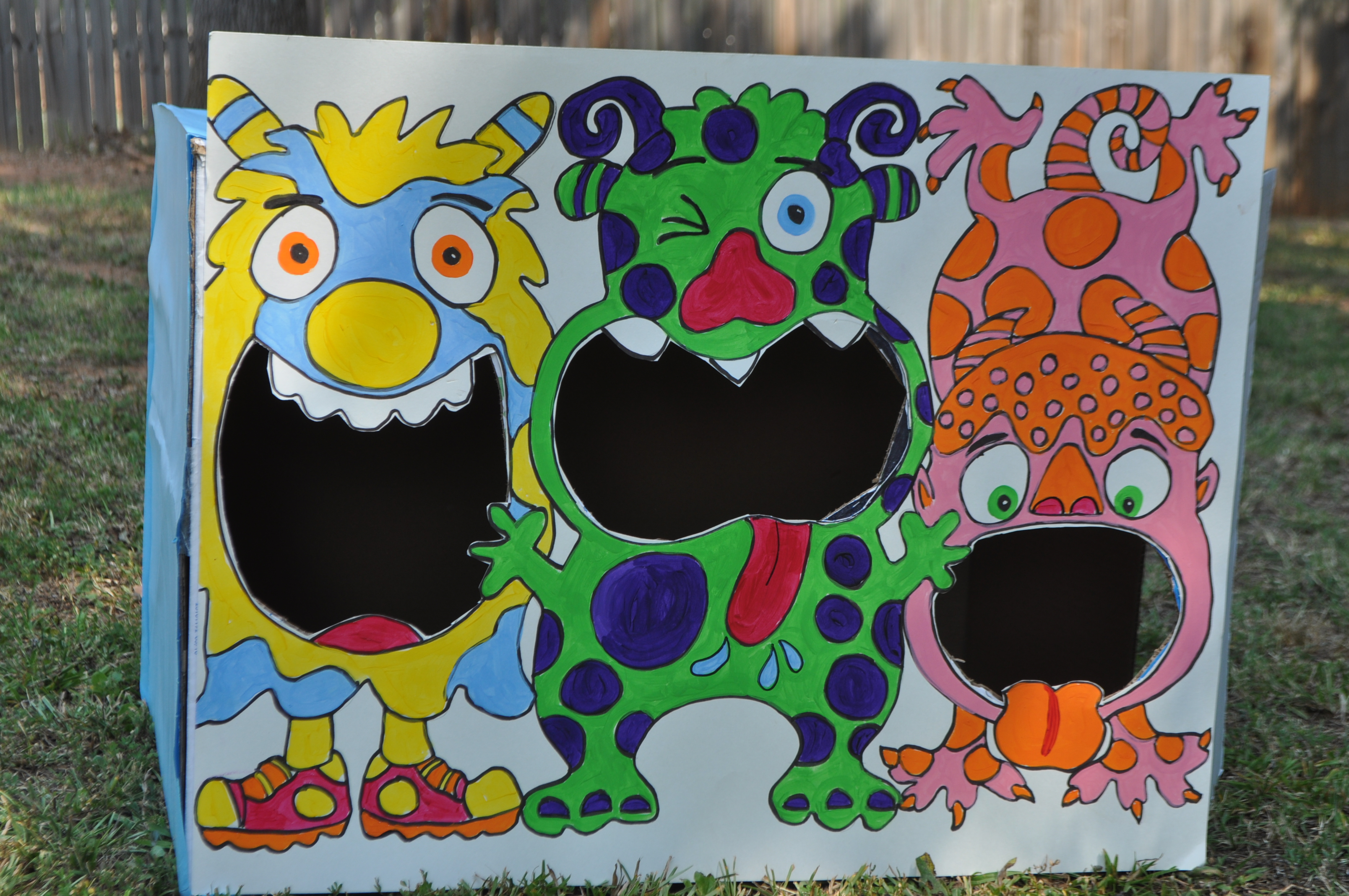 A monster themed birthday party